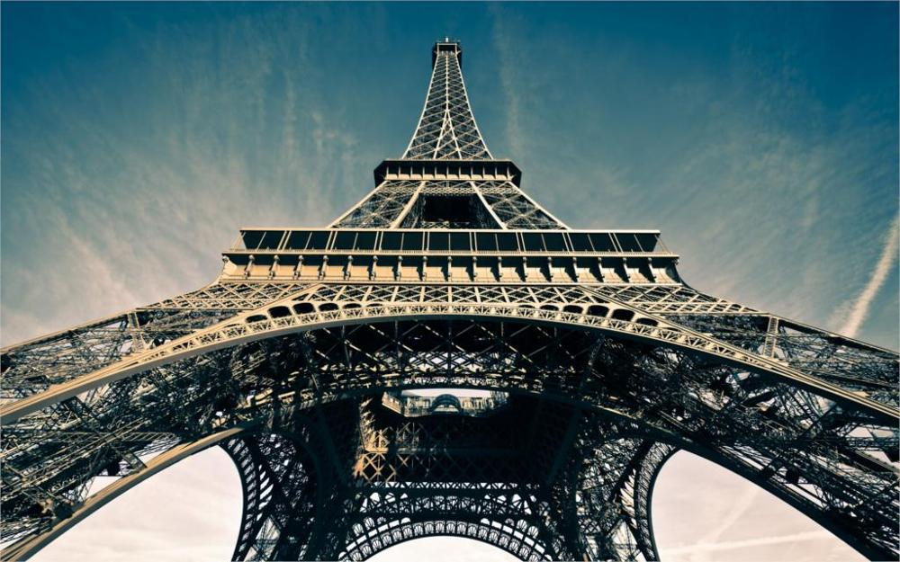 Building La tour Eiffel Eiffel Tower Paris France 5 Sizes Home Decoration Canvas Painting Poster Printing Wall Pictures(China)