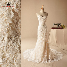Buy Vintage Wedding Dresses Mermaid Sweetheart Lace Sexy Marriage Long Formal Bridal Wedding Gowns 2018 New Design Custom Made YH03 for $195.36 in AliExpress store