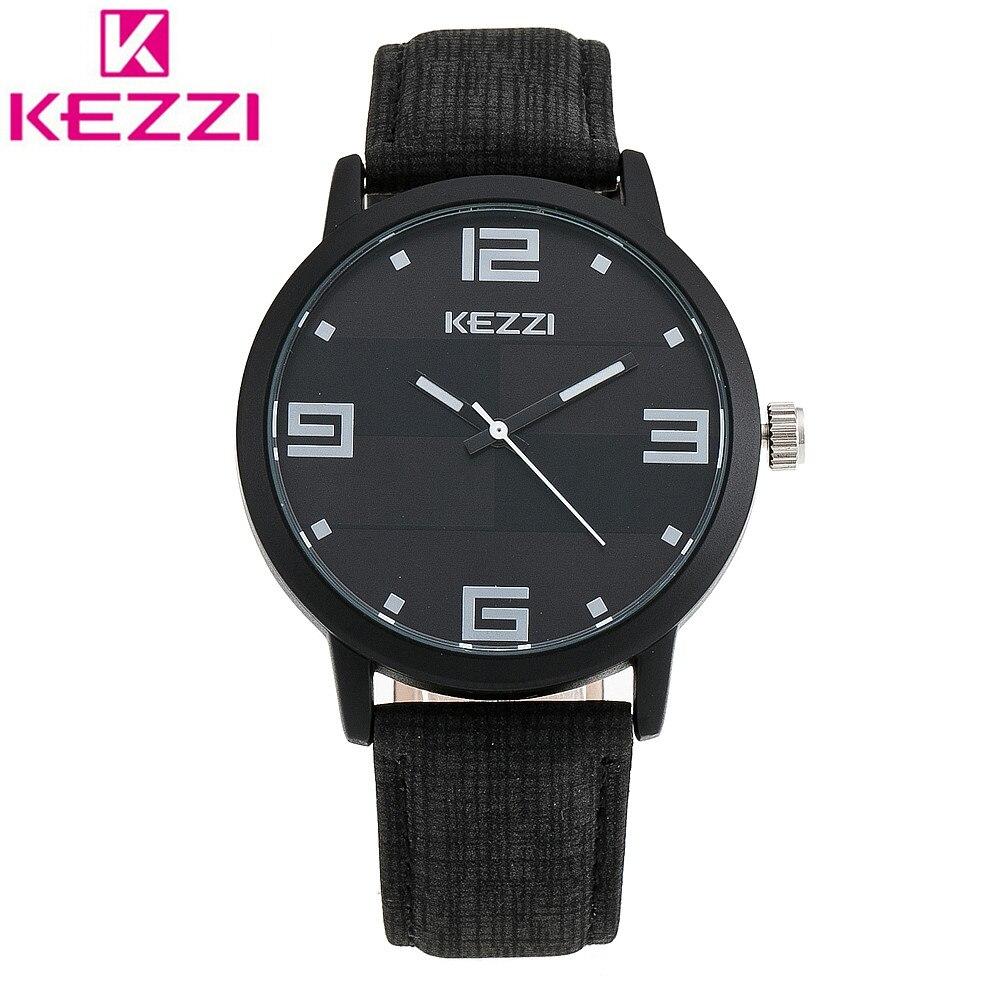 KEZZI K-1347 Top Brand Luxury Watch Men Leather Bracelet Wristwatch Casual Sports Quartz Watch Relogio Feminino Clock Gift KZ48<br><br>Aliexpress