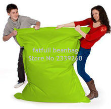 Cover only  No Filler -fatfull waterproof sofa cushion bean bag,lazy beanbag sofa cushion, no stuffings inside