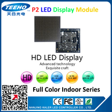 40pcs/lot P2 indoor LED module 128x128mm SMD1515 full color small pitch led screen wall advertising screens p2 led display panel