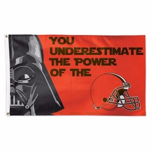 Cleveland Browns Star Wars Team Logo Large banner Indoor Outdoor High Quality Football Flag 3X5 Custom flag
