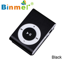 2017 New 1-8GB Support Micro SD TF Mini Clip Metal USB MP3 Music Media Player High Quality Beautiful Gift Hot _KXL0413