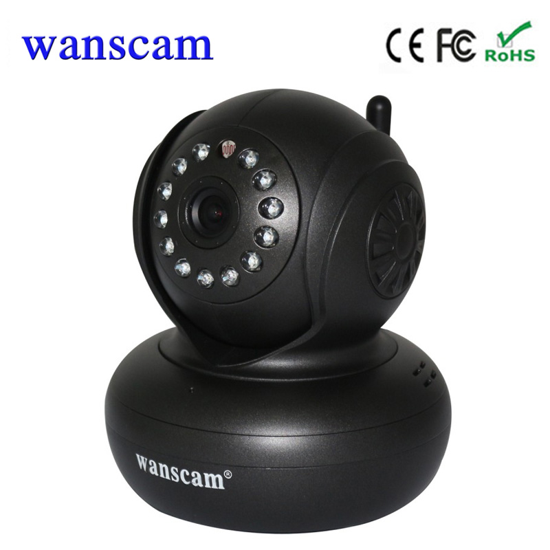 Wanscam HW0021 P2P  Office Home Wifi Security Camera Wireless Dome Camera Indoor  Pan/Tilt Support TF card recording up to 128G<br>
