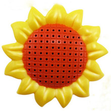Sunflower Echo Microphone Mic Voice Changer Microphone Karaoke Singing Kid Funny Music Toy Besutiful Gifts Feb22