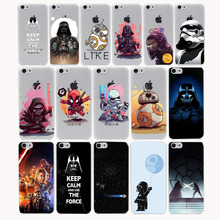 Star Wars Hard Transparent Case Cover for iPhone 7 7 Plus 6 6S Plus 5 5S SE 5C 4 4S