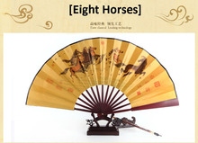 Super Quality chinese paper fan folding fan Brand New Original Tranditional style Wooden crafts gifts fans