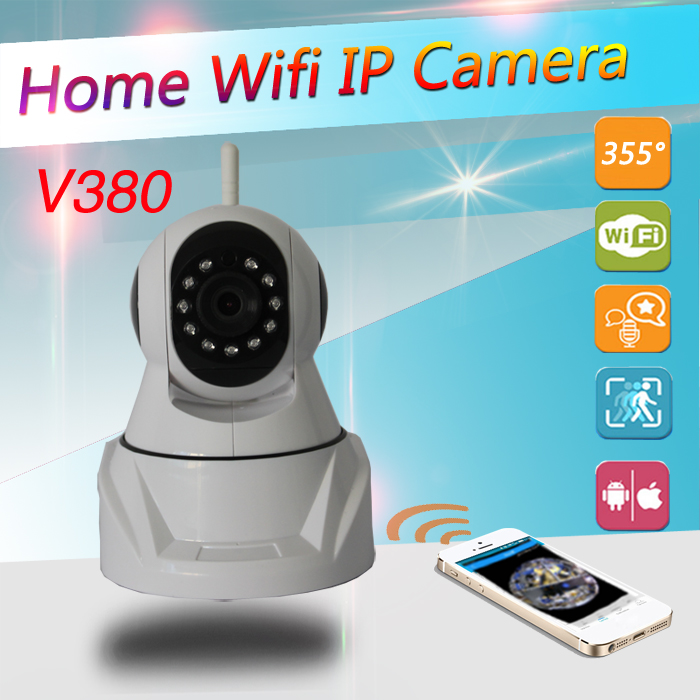 HD 720P Wireless IP Camera Wifi 3.6MM IR Night Vision P2P Security Camera Built-in Microphone Night Vision 10M Motion Detection<br>