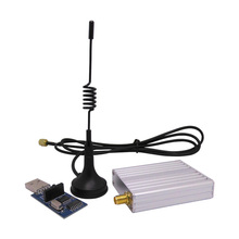 2sets/lot RF module kit(SV652 + antennas + dongle) 2km 433 / 868mhz RS232 / RS485 500mW RF Wireless transmitter receiver module(China)
