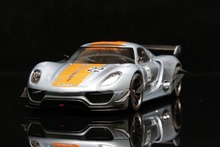 Diecast Car Model Welly FX Models 918 RSR 1:24 (Blue/Orange) + SMALL GIFT!!!!!