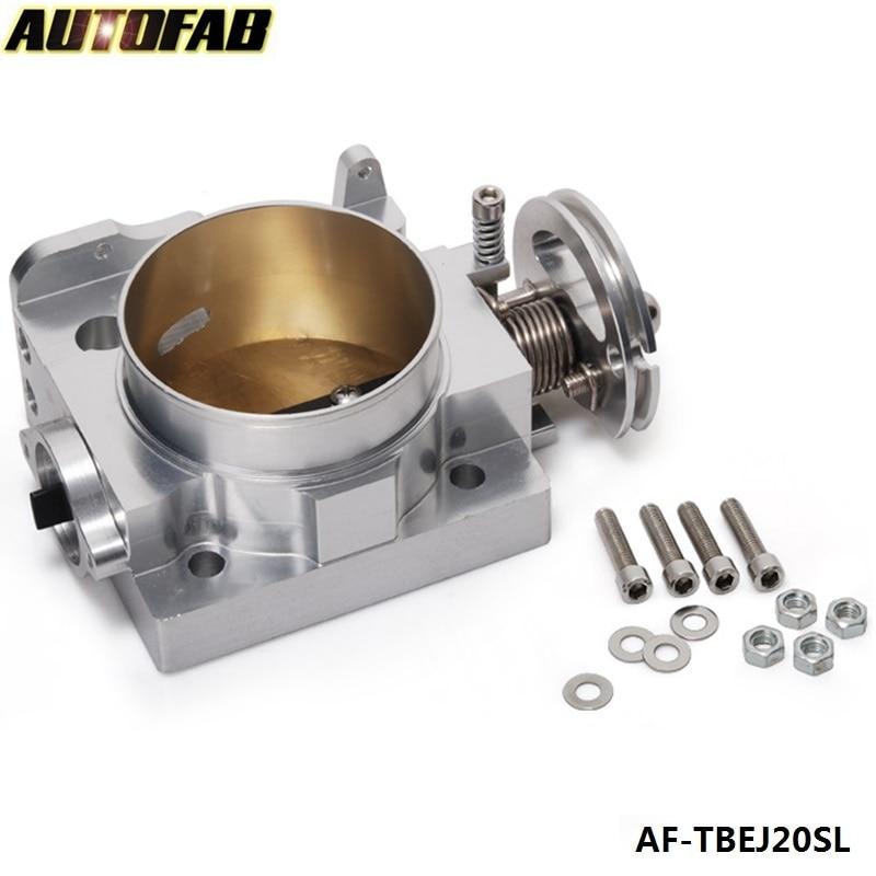AUTOFAB - For SUBARU WRX STI EJ20 EJ25 02-05 GDB 70mm Aluminum Turbo Throttle Body AF-TBEJ20SL