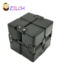Creative Unlimited Decompression Cube Infinite Multidimensional Digital Finger Tips Infinite Rubik's Cube Adult Children's Toy(China)