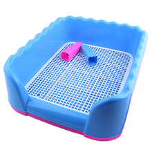 Hot Sales Pet Dog cat With column Toilet Tray Cat Pad Indoor Pet Potty Toilet Puppy Pee Training Clean 052201