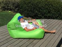 Cover only No Filler - green landed extra big size bean bag lounger, Pool master Sun Drifter Bean-Bag Float(China)