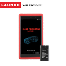 LAUNCH X431 Pros mini multimeters analyzer Bluetooth/Wifi automotive scanner diagnostic tool for car with 2 Years free update