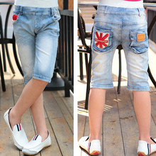 Summer Baby Boys Short Jeans Casual Infantil Denim Enfant Trousers Toddler Kids Clothes Cowboys Jersey Ropa Children Clothing(China)
