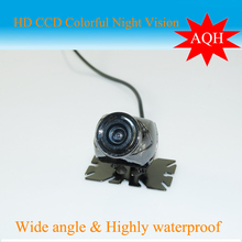 Free Shipping  Luxury Car Rear View Camera 100% Waterproof 170 Degree Wide Angle Best day and night vision