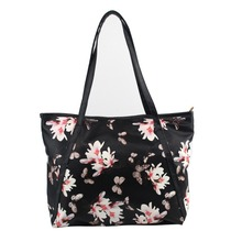 New Fashion Floral Printed Leather Handbags Women Large Shopping Tote Ladies Crossbody Bag Women Shoulder Bags Top-Handbag