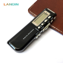 LANQIN USB Voice Activated Digital Voice Recorder Dictaphone Telephone Recording MP3 Player(China)