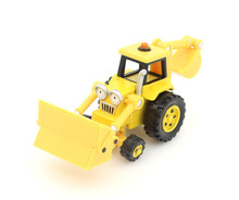 Bob the Builder 100% Original production Excavator Alloy car 1:55 die-cast metal model metal car free shipping