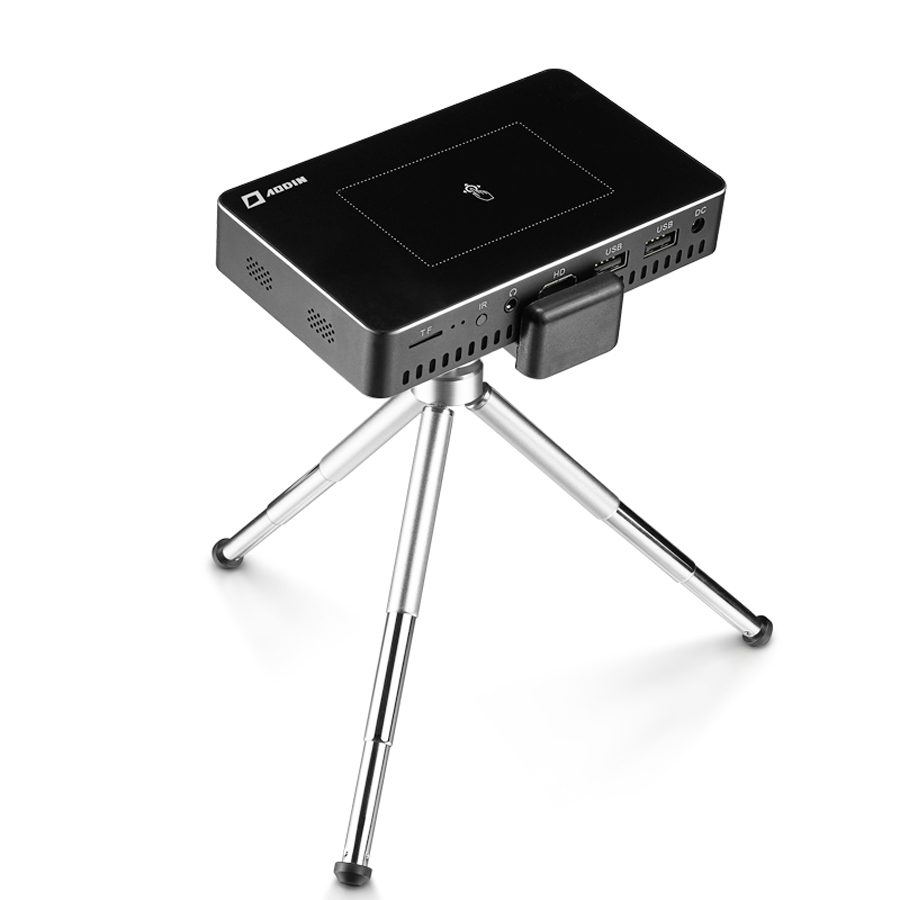 AODIN M9 mini Projector Smart Multi-touch screen1G+32G LED Portable Projectors DLP 300 lumen 5000mAh Battery HD Pocket Projector-25
