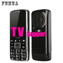 Original FORME TV1 Dual SIM card mobile phone big keyboard speaker FM Radio 2500mAh battery cell 3D sound bluetooth