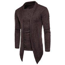 Laamei 2018 Venta caliente ropa de otoño chaqueta de hombre de moda de  algodón de calidad hombres suéter Casual gris Redwine sué. fa757f60c3a1
