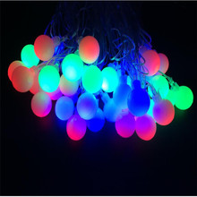 Free shipping Fairy 32 LED Changeable outdoor led Cherry Balls Blossom tree light for christmas led christmas decoration
