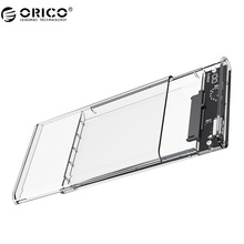 ORICO 2139U3 Transparent Hard Drive Enclosure 2.5 inch USB3.0 Hard Drive Enclosure Support UASP protocol for 7-9.5 mm HDD/SDD(China)