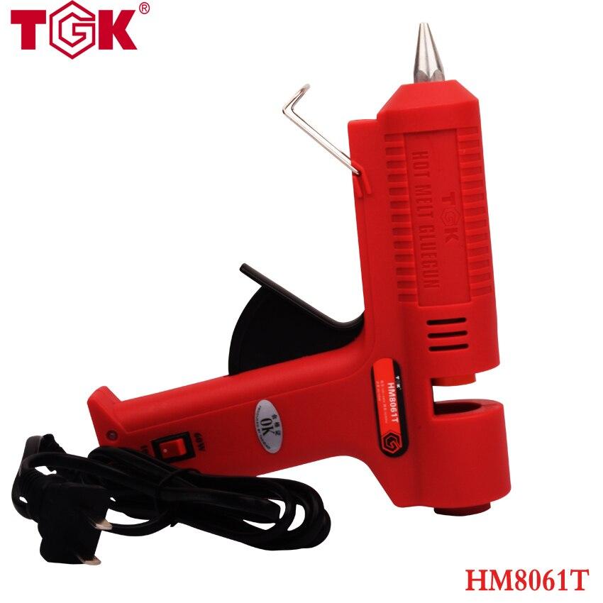 100-240V Professional Hot Melt Glue Gun 60W/100W Double Power Fit 11MM Glue Stick Temperature Repair Tool Glue Gun HM8061T<br>