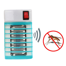 New Arrival 1 Piece 220V Electric Mosquito Killer Lamp Mini Mosquito Repellent Insect Fly Bug Housefly Mosquito Repeller(China)