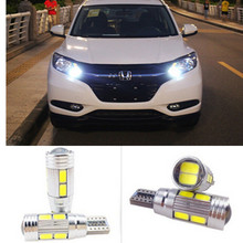 Car LED Auto Lamp 12V For honda Light bulbs with Projector Lens for honda civic 2006-2011 crv fit hrv accord scooters