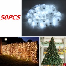 50Pcs Waterproof LED Light For Paper Lantern Ballon Wedding Birthday Party Decor Floral Garden Christmas Ball String LED Light