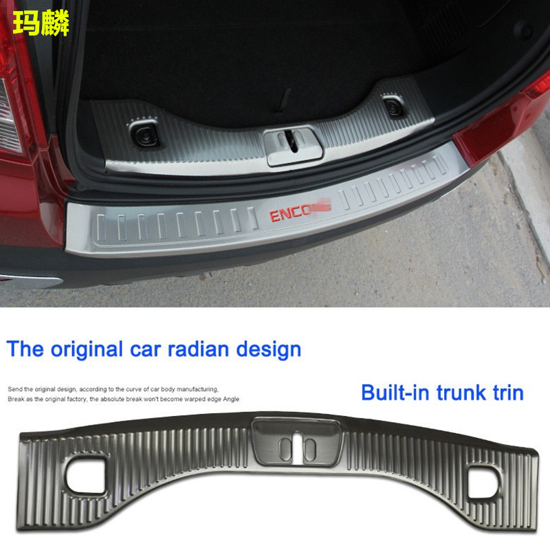 Stainless Steel Built-in External Trunk Trim Out and In Rear Fender Half Package /Package Car Styling For Encore 2013-2016<br><br>Aliexpress