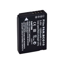 Battery Panasonic DMW-BCG10E Lumix TZ6 TZ7 TZ8 TZ10 DMC-TZ20 Updated Chip - Terrific Consumer Elec-tronic Store store