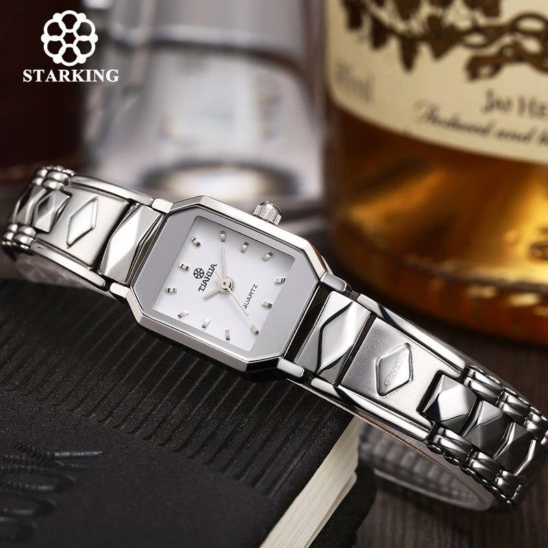 STARKING Ladies Quartz Watches Sapphire Stainless Steel Watches Women Bracelet Dress Luxury Wrist Watch BL0347 reloj de cuarzo<br><br>Aliexpress