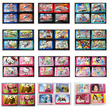 12Pcs Hello Kitty Winx Club Pikachu Coin Purse Cute Kids Cartoon Wallet Bag Pouch Children Purse Small Wallet Party Gift