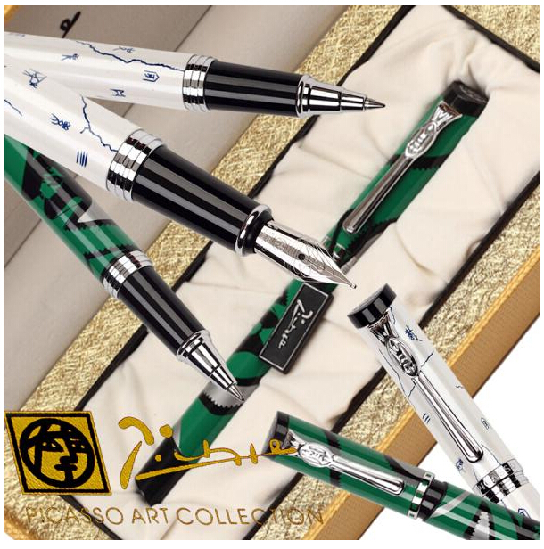 RollerBall pen Or Fountain Pen  Picasso 927 the best gifts school and office stationery wholesale 12 pcs/lot Free Shipping<br>