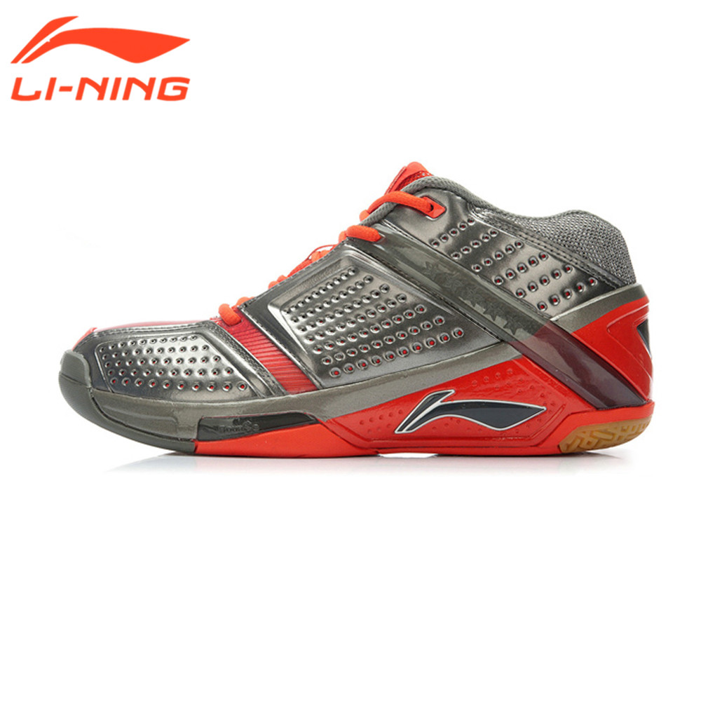 Li-Ning Mens Profession Badminton Shoes Game With Contrasting Design Sneakers<br><br>Aliexpress