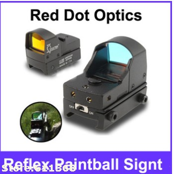 Doctor Compact Tactical Red Dot Optics Reflex Paintball Signt<br>