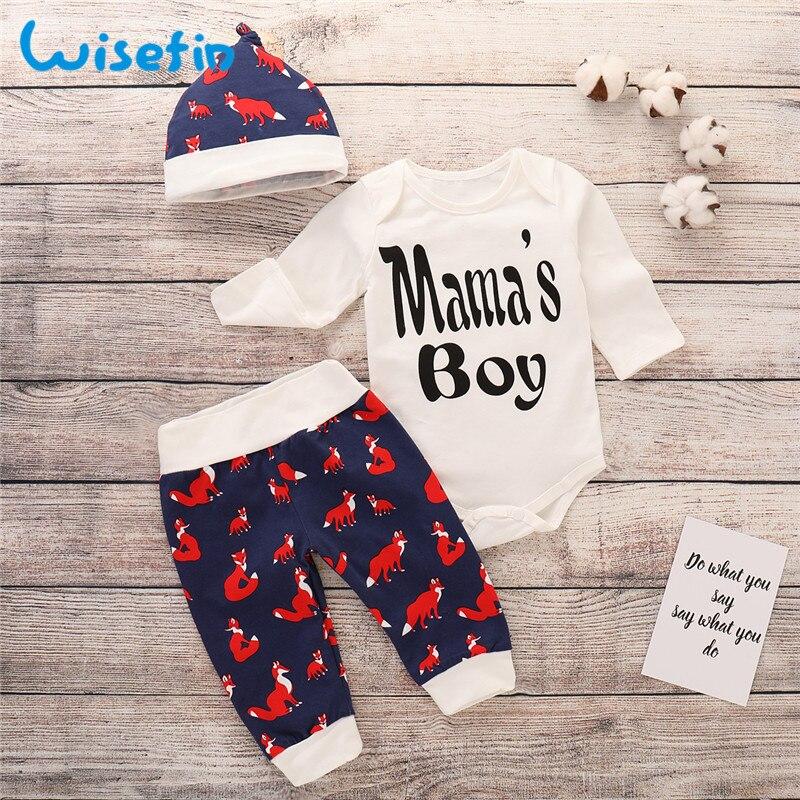 5c31f5be1 Wisefin Baby Boy Clothing Set Fall Long Sleeve Infant Newborn Boy ...