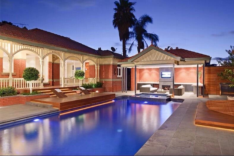 swimming pool effect