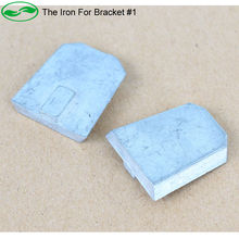 GreenYi The Metal Plate Iron For Bracket #1 Stick on Car Glass . Replace Original Bracket Rearview Mirror Monitor(China)