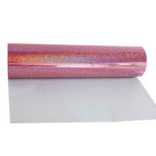 50x100cm Holographic Laser Heat Transfer Vinyl (HTV) Heat Press Tshirt Printing Film(China)