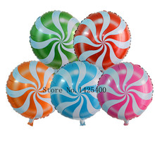 The new aluminum balloons wedding birthday party, children's toys, decorative aluminum balloons wholesale lollipop