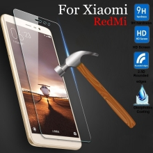Tempered Glass For Xiaomi Mi2 Mi3 Mi5 Mi4 Mi4C Mi4i Redmi 1S 3 3s Note 2 3 Pro Note2 Note3 3Pro Prime Screen Protector Film