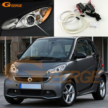 Smart Fortwo W451 2007 2008 2009 2010 2011 2012 2013 2014 Excellent Ultra bright illumination CCFL Angel Eyes kit Halo Ring
