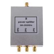 3 Way SMA Power Splitter 380MHz-2500MHz SMA Female Signal Splitter Divider SMA Female Signal Booster Divider RF Connector