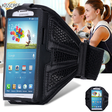 KISSCASE Waterproof Sport Gym Arm Band Case For Samsung Galaxy S6 S6 Edge S7 S5 S4 S3 A3 A5 J2 J3 J5 Workout Running Phone Pouch