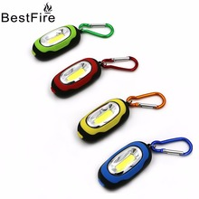 Bestfire COB mini keychain light flashlight Portable Led Torch Lamp Keychain Mini Flashlight